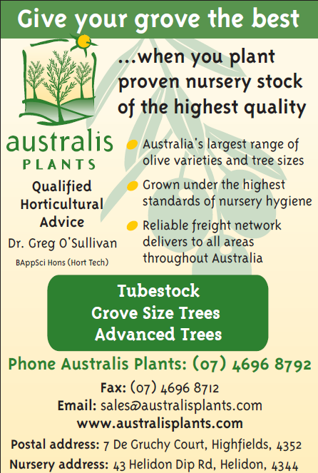 Australis plants advert
