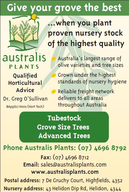 Australis plants advert