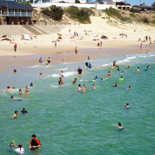 Port Noarlunga beach